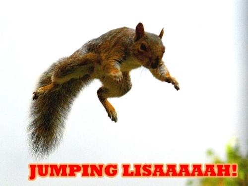 Jumping Lisaaaaaaaaaah