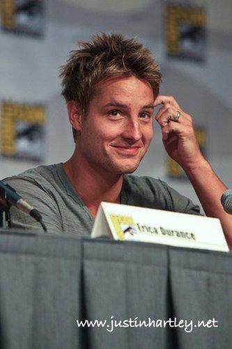 Justin At Comic Con 2010