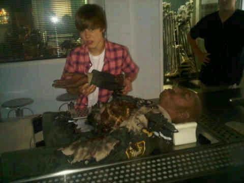 Justin Bieber on CSI!