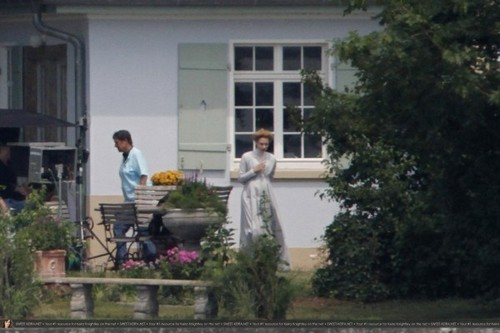 "Keira filming ""A Dangerous Method"" July 21st"