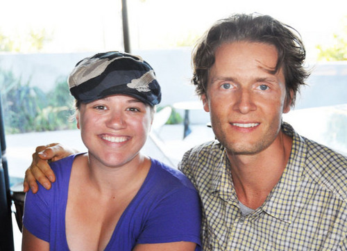 Kelly Clarkson and Toby Gad