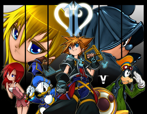 Dex3fan wallpaper called Kingdom hearts