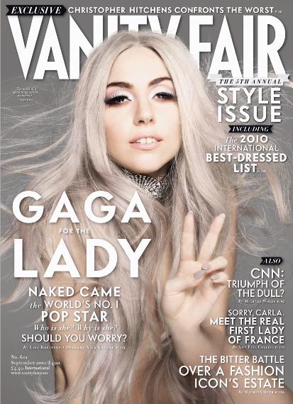 lady gaga vanity fair cover. Lady GaGa on the Cover from Vanity Fair - Lady GaGa 413x570