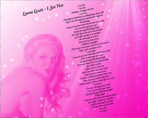 Leona Lewis - I See Ты
