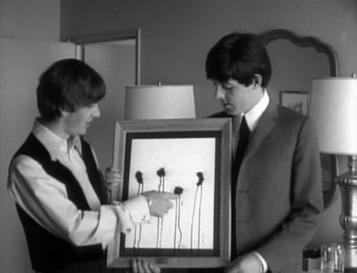 Look Ringo! Paul's made an abstract.