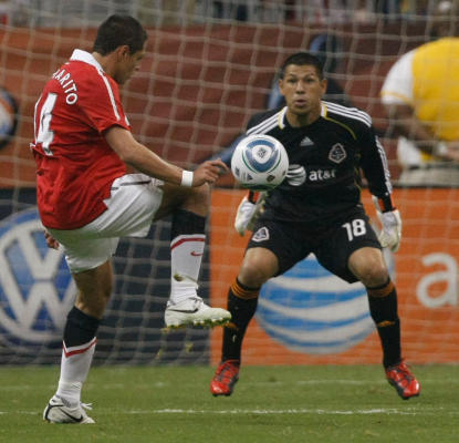 Manchester United (5) vs MLS All Stars (2)