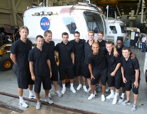 Manchester United Visits NASA