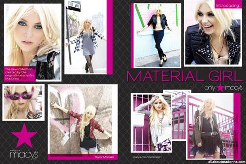 Material Girl Collection – Promo Pictures