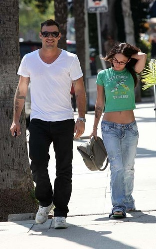 Megan & Brian out in Sherman Oaks