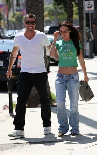 Megan & Brian out in Sherman Oaks