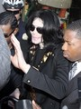 Michael shopping with his kids at Tom's Toys - michael-jackson photo