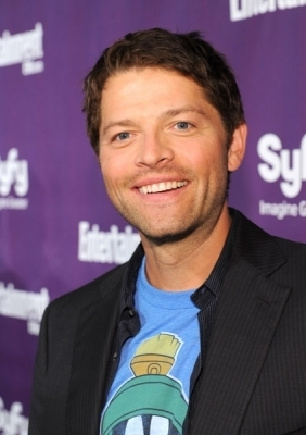 Misha @ EW and Syfy Celebrate Comic-Con