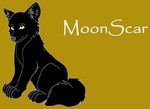 MoonScar Done on Paint 由 me