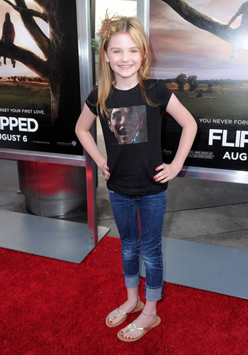morgan Lily at Flipped Premiere