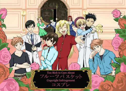 Ouran High School Host Club Fruits Basket Cosplay