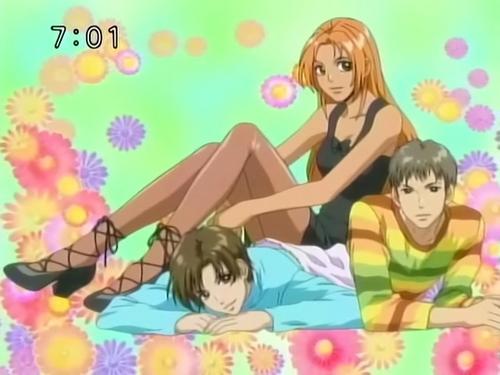 Momo, Kairi and Touji