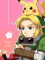Pikachu, Link and Rob - super-smash-bros-brawl photo