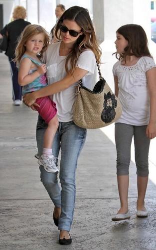 Rachel Bilson out with family in LA (July 28).