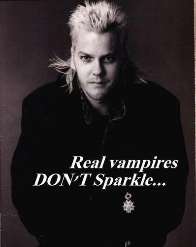 Real vampire DON'T Sparkle...