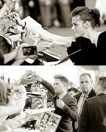 Robsten signed autograms