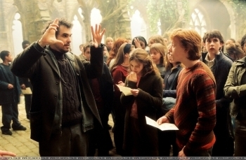 romione - Harry Potter & The Prisoner Of Azkaban - Behind The Scenes & On The Set