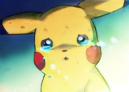 Pikachu wallpaper entitled Sad Pika