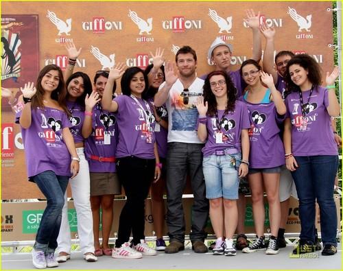 Sam @ 2010 Giffoni Experience