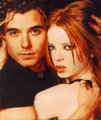 Shirley Manson and Gavin Rossdale