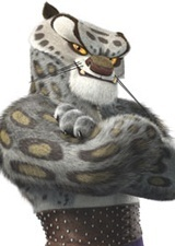 Tai Lung the snow leopard