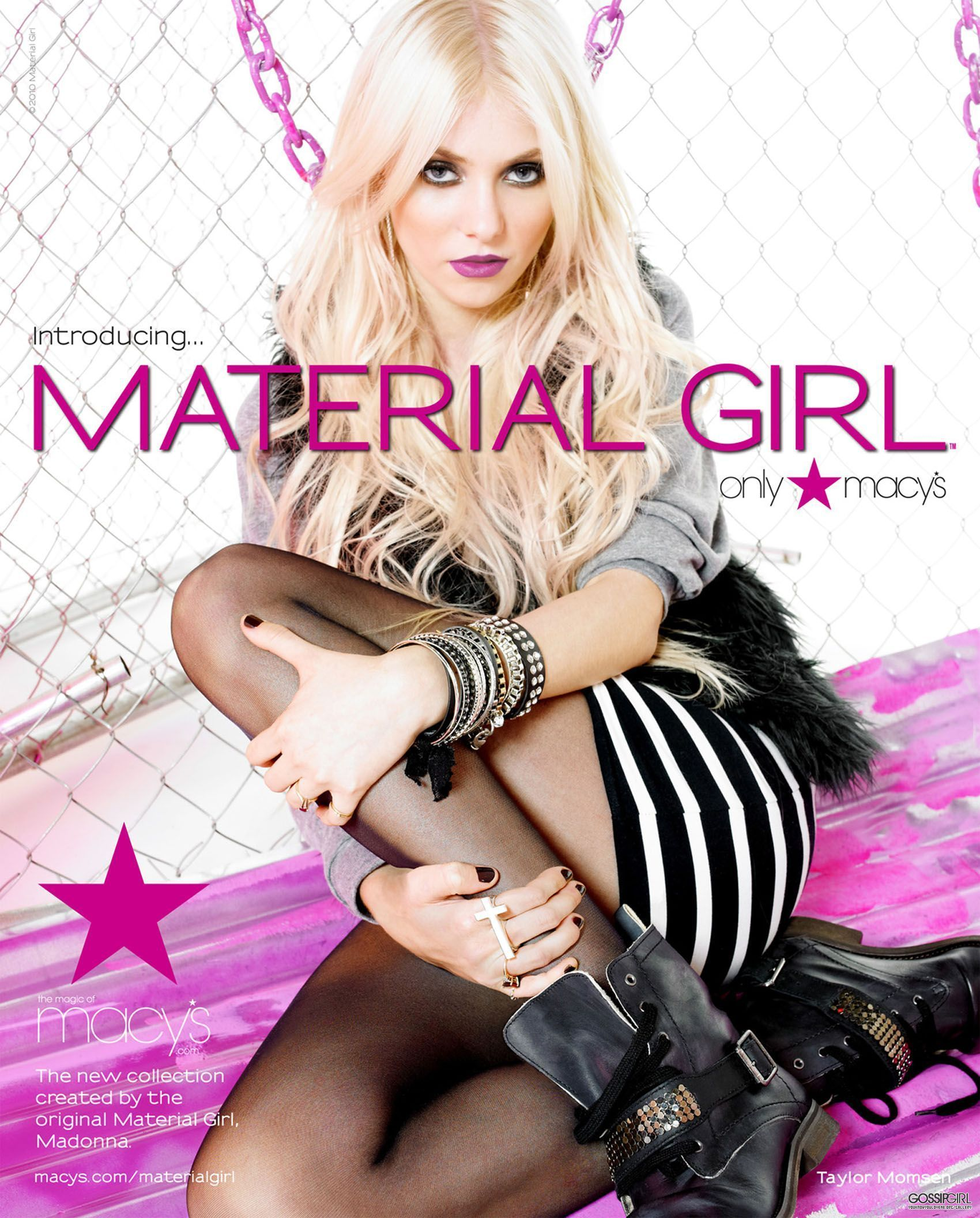 "Taylor ""Material Girl"" shoot"