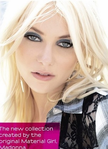 Taylor Momsen - Material Girl Line foto Shoot and BTS