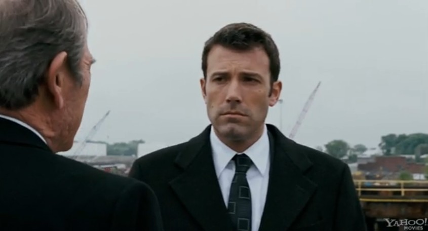 "nor ""Inside Job,"" but the new Ben Affleck flick, ""The Company Men."
