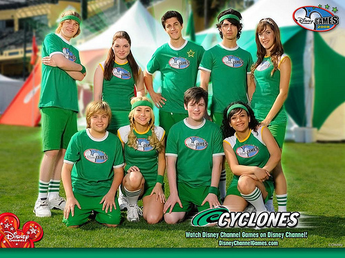 The Cyclones (green)