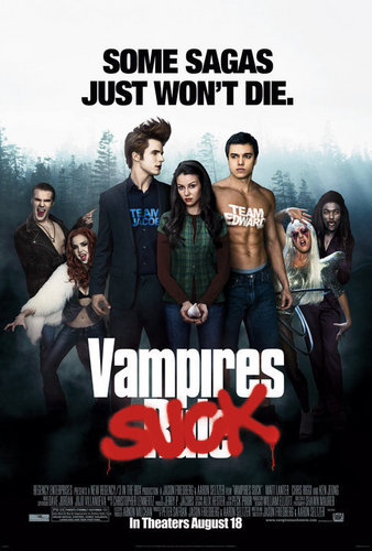 Vampire Suck Movie Poster