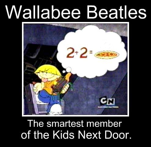 Codename: Kids successivo Door wallpaper called Wally is so smart.