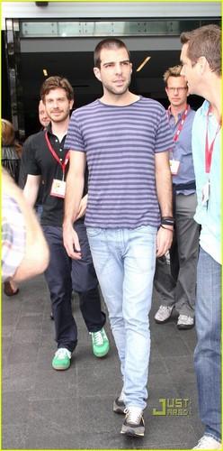 Zachary Quinto / Comic Con 2010