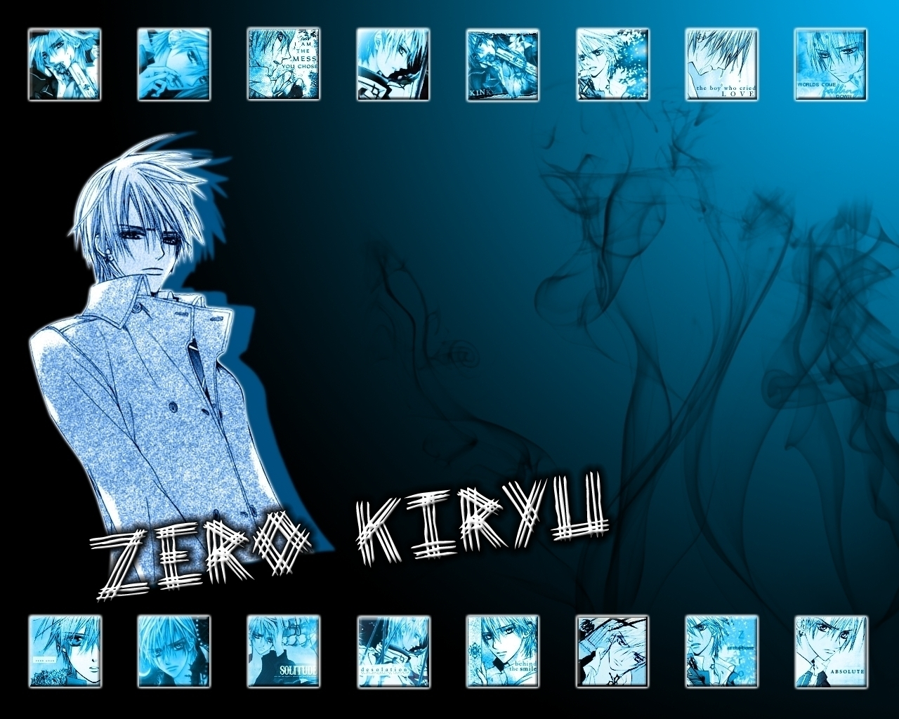 Zero Kiryu - Vampire Knight Wallpaper (14240779) - Fanpop