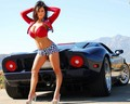 babes and cars - being-a-man photo