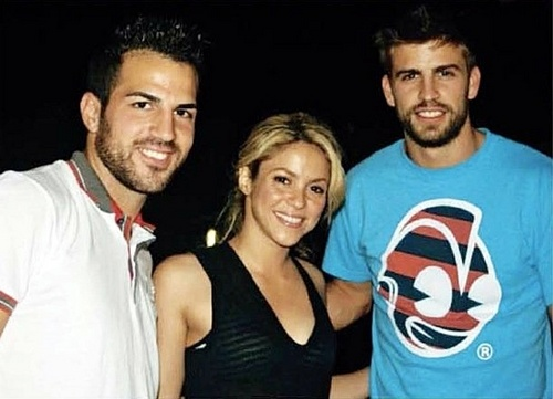 cesc y pique-BEST FRIENDS