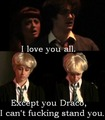 except you draco