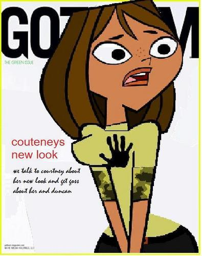 gothem magazine courtney's new look