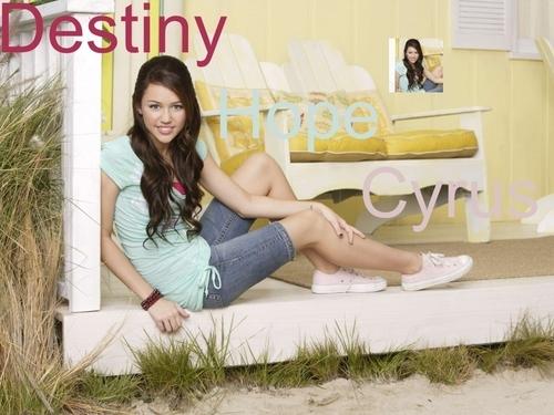 Hannah Montana wallpaper called miley cyrus / destiny hope cyrus
