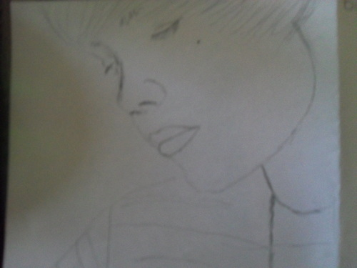 my drawing of justin bieber it's not finished yet tho <3 - justin-bieber Photo