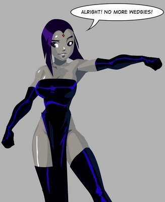 Teen Titans Hintergrund entitled raven Fan art