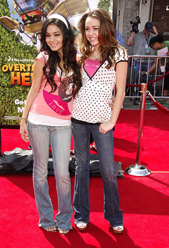vanessa and miley cyrus