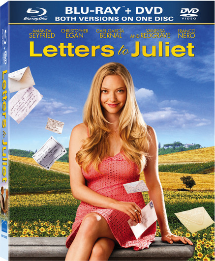 """Letters To Juliet"" DVD Covers"