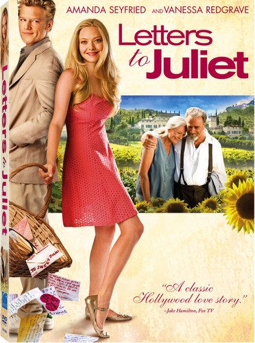 """""""Letters to Juliet"""" DVD Covers"""
