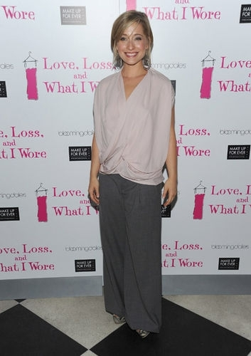 And What I Wore New Cast Member Celebration Allison Mack