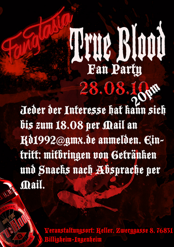 1. True Blood shabiki Party