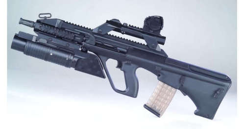 AUG A3 granate louncher